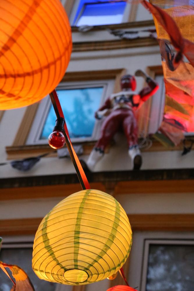 Benjamin - Superman selbstgemachtes Sankt Pauli (Eine Freundin will, dass ich das fotografiere)