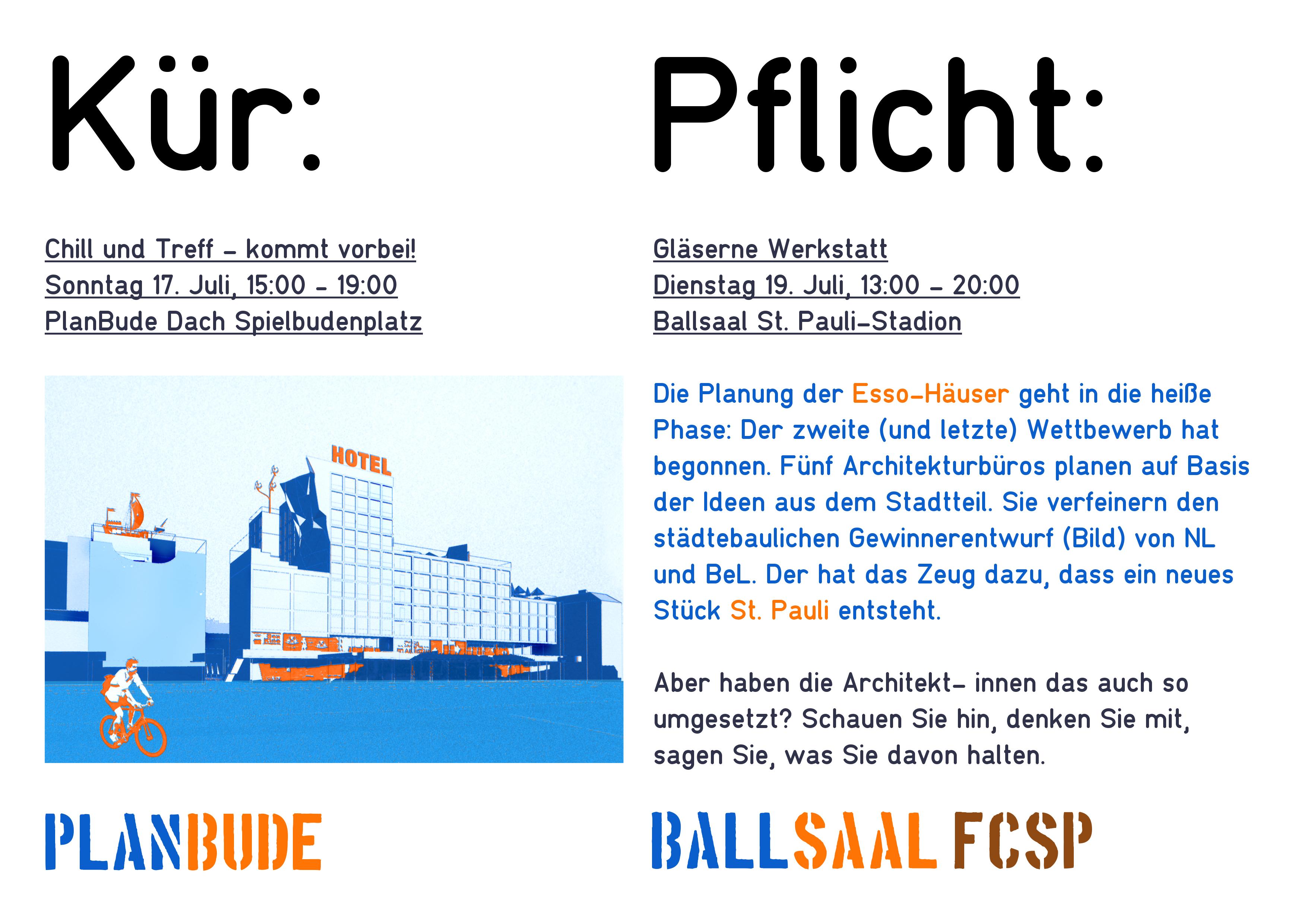 Pflicht: Gläserne Werkstatt Essohäuser – im Ballsaal des FC St ...